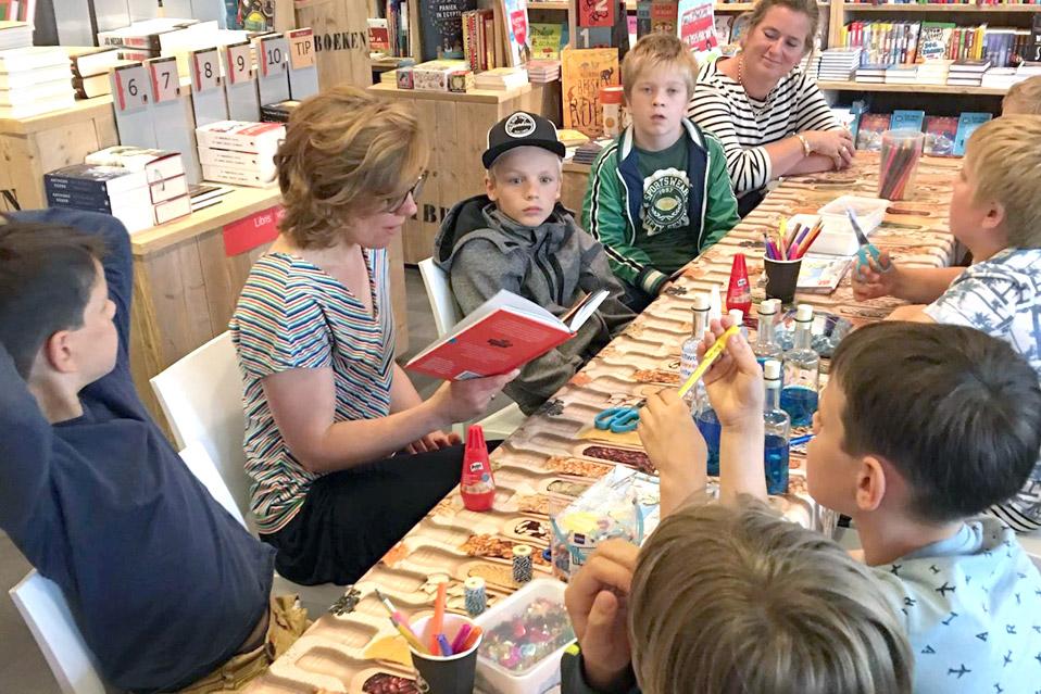 Voorlezen De Amsterdamse Boekhandel